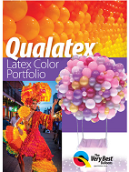 Qualatex Color- 1 On each Color Balloon in a Portfolio