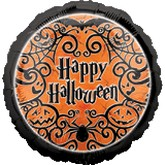 "18"" Gothic Greeting Happy Halloween"