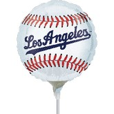 "9"" Airfill Mini Los Angeles Dodgers Balloon"