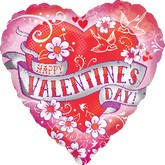 "18"" HVD Tattoo Banner Balloon"