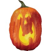 "34"" Large Shape Photographic Pumpkin"
