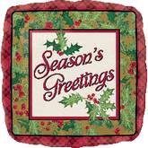 18'' Season's Greetings Holiday