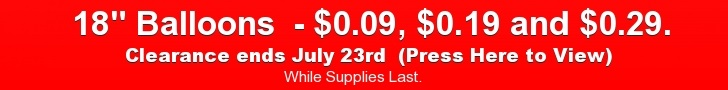 Super Deals as low as $0.09 on Balloons