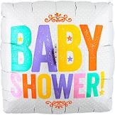 "18"" Baby Shower Block Letters"
