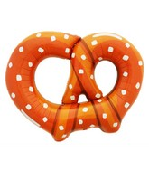 "41"" Jumbo Pretzel Shaped Foil Balloon"
