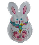 Bitty white bunny Easter Shaped Airfill Balloon