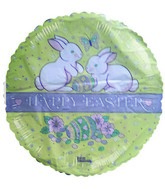 "18"" Happy Easter Bunny Balloon"