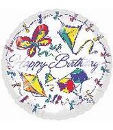 "18"" Happy Birthday Kites"