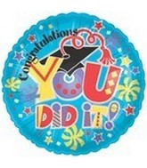 "18"" You Did It! Mortarboard"