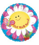 "18"" Get Well Soon Smiling Daisy"