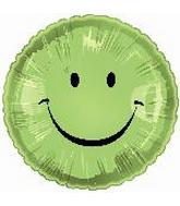 "18"" Smiley Face Lime"