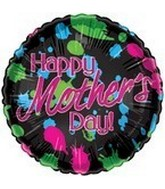 "18"" Happy Mother&#39s Day Splatter Paint"