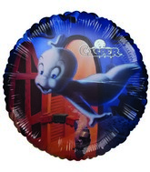 "18"" Licensed Casper the Friendly Ghost Foil Balloon"