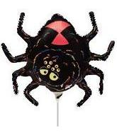 "14"" Airfill Black Halloween Spider M603"