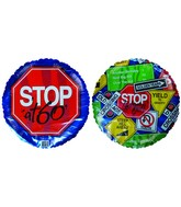 "18"" Stop sign at 60 Birthday"