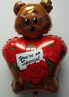 "36"" Youre So Special Bear Balloon Damaged Print"