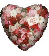 "18"" Happy Valentines Day Roses Note"