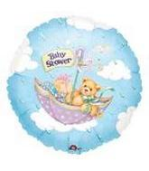 "9"" Airfill Only Baby Shower Bear Balloon"