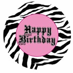 "18"" Super Stylish Birthday Balloon"