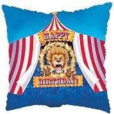 "18"" Circus Birthday Party Foil Balloon"