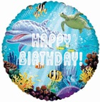 "18"" Ocean Party Birthday Balloon"