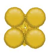 "30"" Magic Arch Large Balloon Metallic Gold"
