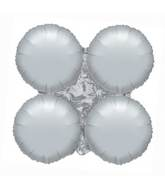 "16"" Magic Arch Metallic Silver"