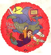 "18"" Quest for Camelot Birthday Balloon"