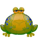 "9"" Airfill Big Bullfrog Shape Balloon"