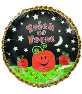 "18"" Trick or Treat Jack-o-Lantern Halloween Balloon"