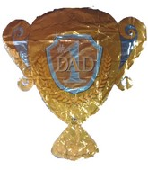 30&#39&#39 Dad Trophy Shape (Slight Damaged Print)
