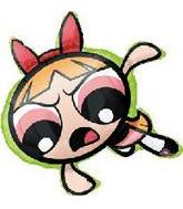 "26"" PowerPuff Girls Buttercup (Slight Damage)"