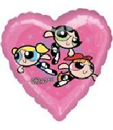 "18"" Power Puff Girls Heart"