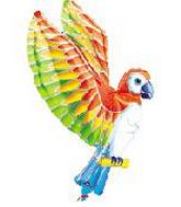 43&#39&#39 Colourful Parrot SuperShape