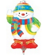 "14"" Airfill Only Chilly Snowman"