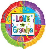 "18"" Love You Grandpa Balloon"