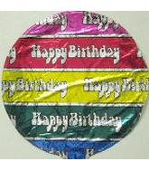 9&#39&#39 Rainbow Happy Birthday M320