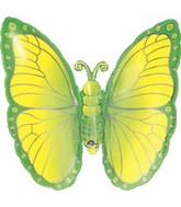 "25"" Lime Green Butterfly"