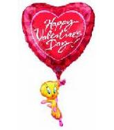 "35"" Happy Valentine&#39s Day Tweety"