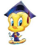 "32"" Tweety Grad Shape"
