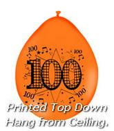 "9"" Latex Asssorted Balloons 100 With Music Notes"