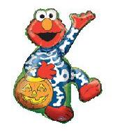 "38"" Halloween Elmo Shape balloon"