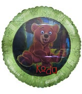 "18"" Disney&#39s Brother Bear Character Mylar Balloon"
