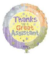 "18"" Thanks To A Great Assistant Stars"