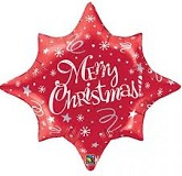 "34"" Jumbo Merry Christmas Festive Balloon"