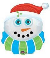 "27"" Snowman Eyecatcher Box30"