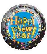 New Years Mylar Balloons