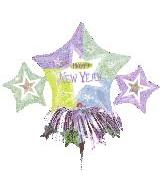 "14"" New Year Star Cluster (Balloon Only)"