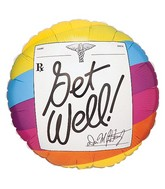 "18"" Get Well Prescription Balloon"