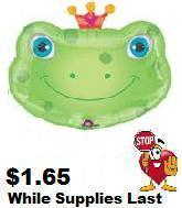 "32"" Heart Crown Eyecatcher&#39s Frog 6B11"